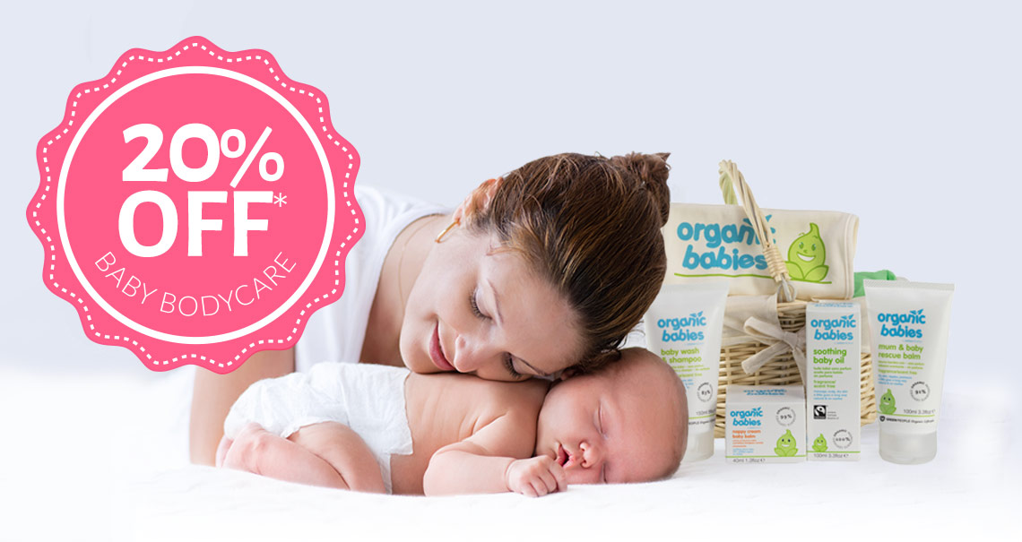20% Off Baby Bodycare*