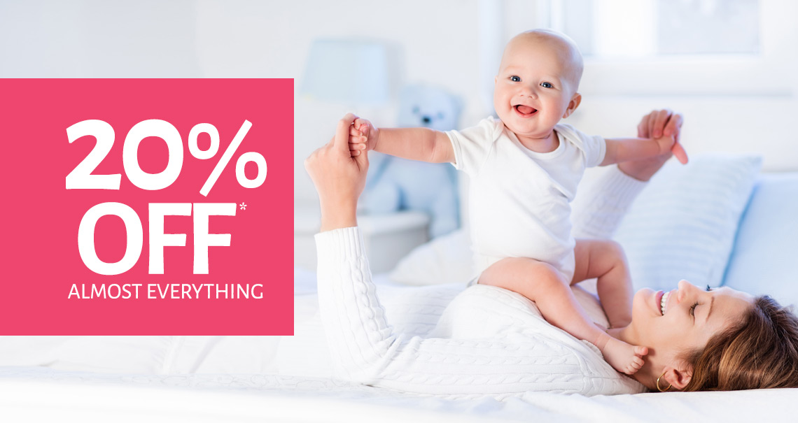 20% Off Almost Everything In Store*