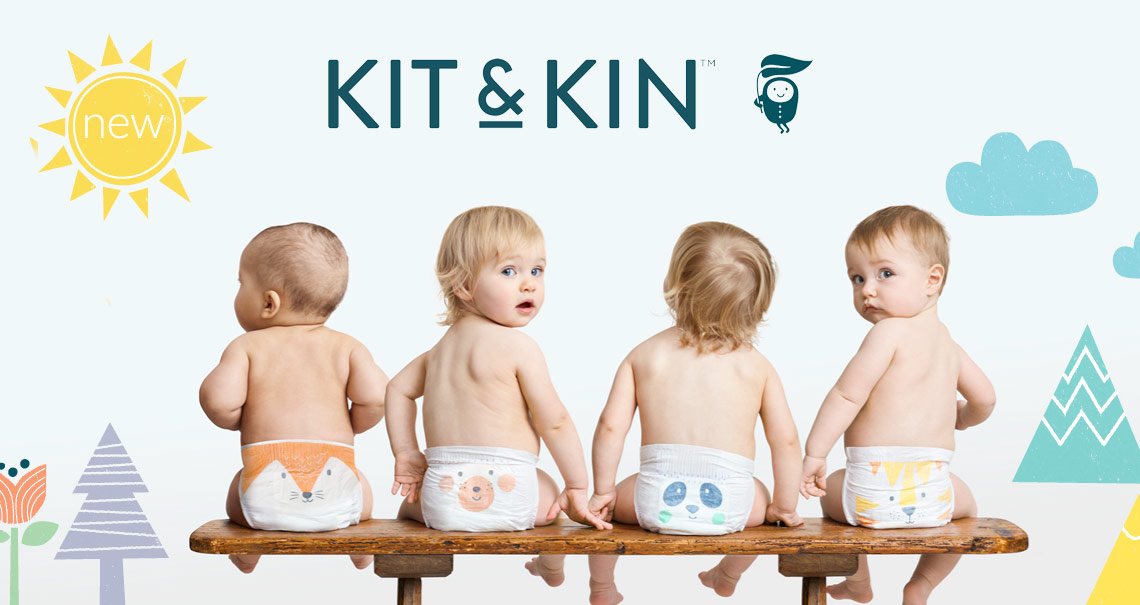 Introducing Kit & Kin - Super absorbent | Hypoallergenic | Biodegradable