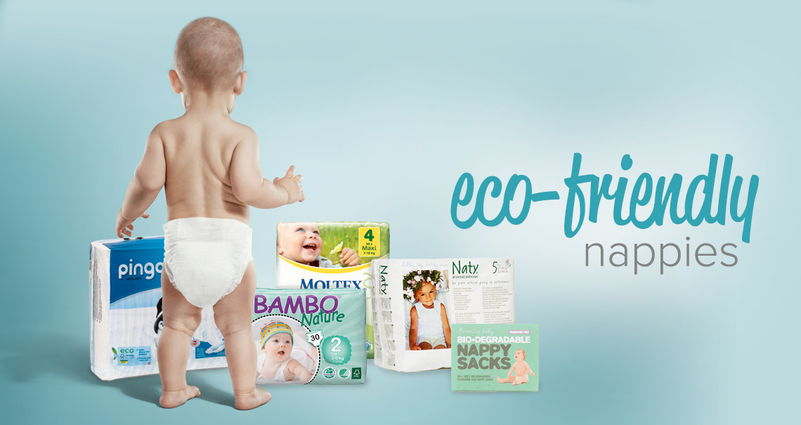 Eco Nappies - Care about your little one and the planet