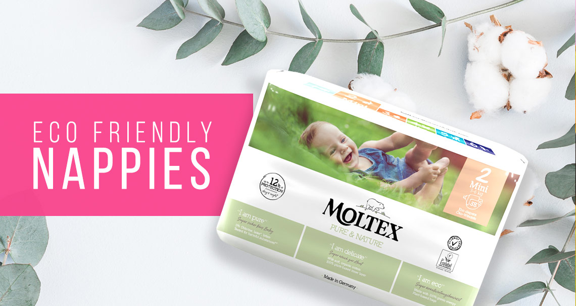 Eco Friendly Nappies - Better for your baby and the planet