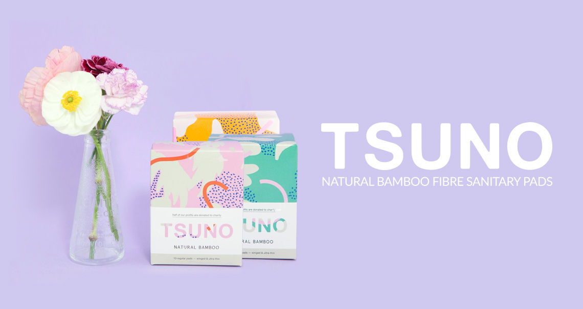 Introducing Tsuno - Natural Bamboo Fibre Sanitary Pads