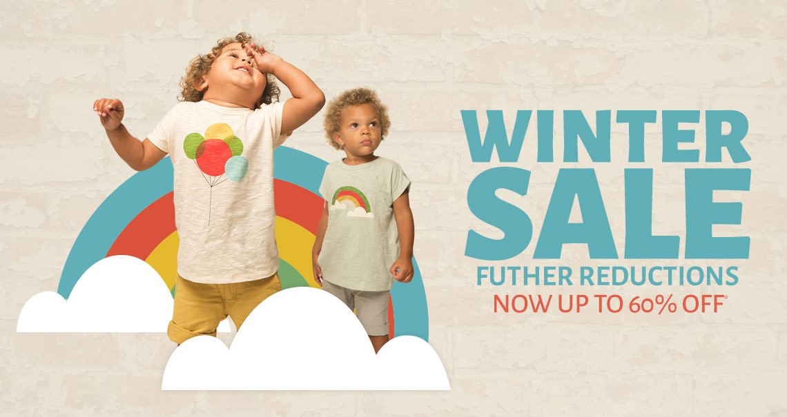 Winter Sale - Futher Reductions Now Up To 60% Off*.